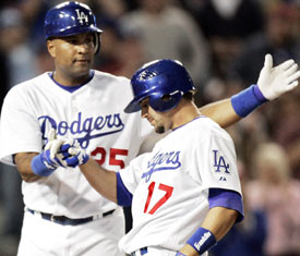 Couple Dodger players